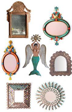 Mexican Mermaids + Mirrors