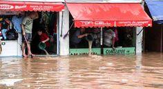 O bairro de Itaquera, na zona Leste, foi o mais atingido. O transbordamento do rio Verde inundou várias ruas da região e arrastou carros, principalmente nas imediações do cruzamento das avenidas Jacu-Pessego e Imperador. De acordo com o Corpo de Bombeiros, não houve vítimas e nem relatos de pessoas desaparecidas