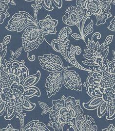 Home Decor Upholstery Fabric-Wavery Belinda / Blue Sky