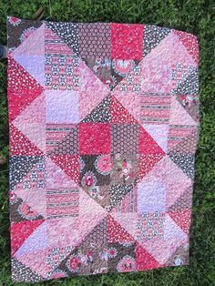 10 Quilts - Layer Cakes, Charm Squares, Fabric Scraps.  10 Quilts In 10 Weeks - A Quilt A Week