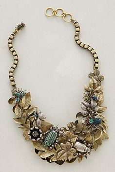 Elytra Bib Necklace - anthropologie.com why is this $1300?! Somebody knockoff please!
