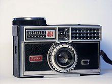 Vintage polaroid photo printer
