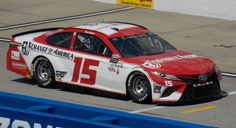 Reed Sorenson's 2017 XChange of America Toyota - Photo by Alan Wiltsie Nascar Race Cars, Homesteads, Paint Schemes, Concept Cars, Toyota, Track, America, Retro, Vehicles