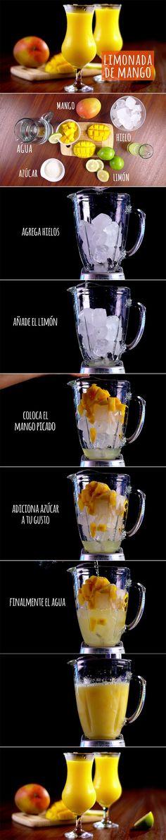 Calma tu sed con una bebida refrescante. #DateElGusto #Recetas #Delicioso #HazloTuMismo | https://lomejordelaweb.es/