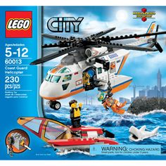 LEGO City Coast Guard Helicopter Play Set