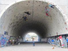 Best outdoor climbing gym ever.