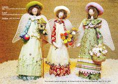 Flores & Mimos: bonecos de pano