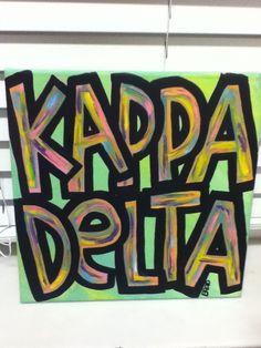 Kappa Delta Colorful