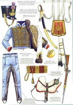Dotazione e armamento del 5 rgt. ussari francesi