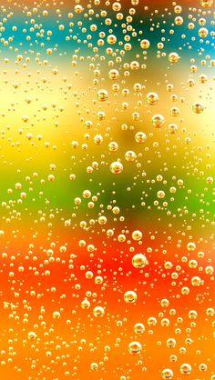 Bubbles Bokeh Glitter, Sparkle, Glow Phone Wallpaper - Background