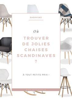 Shopping : où trouver de très jolies chaises scandinaves ? Il y en a pour tous les goûts et à très petits prix ! Pour savoir où les shopper, rendez-vous sur @decocrush ou repostez cette image pour plus tard !