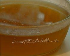 Chicken Broth for Tortellini (Brodo di Pollo) - la bella vita cucina