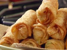 Chicken Avocado Egg Rolls Recipe : Guy Fieri : Food Network - FoodNetwork.com