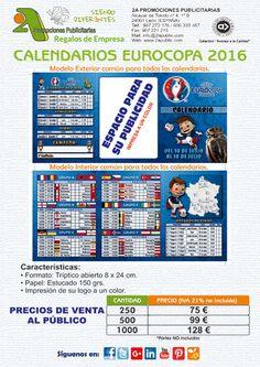 ¡ 2A - Calendario EUROCOPA 2016 !  Encarga tu práctico calendario de la #Euro2016 con todos los cruces de las selecciones hasta la final y con la posibilidad de personalizarlo con tu logo o motivo a un color.  Cantidad mínima de 250 uds.  Para más información y solicitud de presupuestos, sin ningún tipo de compromiso, no dude en contactarnos.  #eurocopa #futbol #publicidad #comunicacion #marketing #regalosdeempresa #leonesp #merchandising #Eurocopa2016