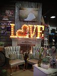 Bee Lavish Vintage Rental | Accessories- LOVE Neon  sign for above bar? Or in the lounge?