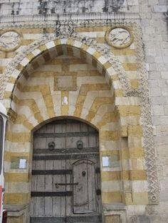 Lebanese door