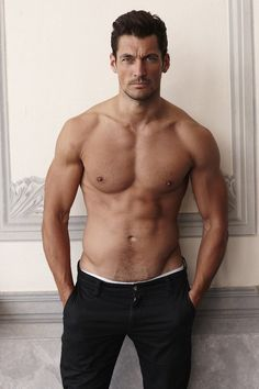 david gandy | the results of that workout! The most beautiful MAN EVER!