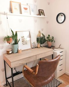 Bohemian Office - Each of us has different needs and material . - Bohemian Office – Each of us has different needs and material options, but different tastes and ho - Home Office Bedroom, Home Office Design, Home Office Decor, Bedroom Decor, Home Decor, Bedroom Ideas, Bedroom Designs, Home Design, Modern Bedroom