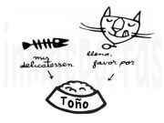 delicatessen gatos.marca agua