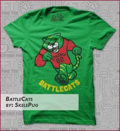 battlecats t-shirt Designed by Skelepug a really cool he man inspired t shirt Geek Shirts, Geek Games, Shirt Designs, Geek Stuff, Hoodies, Cool Stuff, Geeks, Mens Tops, T Shirt