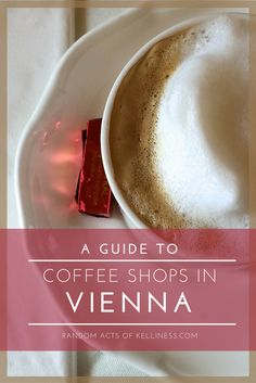 A guide to the best coffee shops in Vienna, via www.RandomActsOfKelliness.com