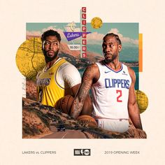 2019-20 NBA Opening Week (NBA on TNT) on Behance