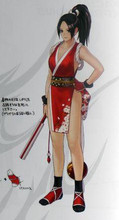 Mai Shiranui - KOF XIV Artbook