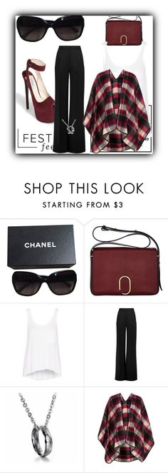 """Festival"" by jennh20 ❤ liked on Polyvore featuring Chanel, 3.1 Phillip Lim, rag & bone, Roksanda and Topshop"