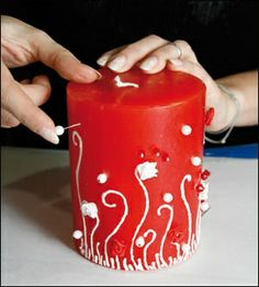 candle craft ideas