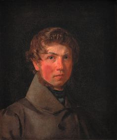 Christen Købke (1810-1848): Self-Portrait, 1833
