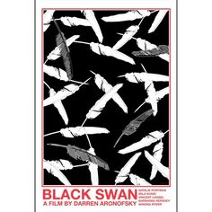 Black Swan 12x18 inches movie poster. £12.00, via Etsy.