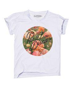 3bd441633 Panic At The Disco Circle Floral Flower Logo? T Shirt Band Merch, Band  Shirts