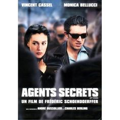 Secret Agents Vincent Cassel Monica Bellucci, Films Cinema, Cinema Posters, Movie Posters, Charles Berling, Cinema France, Constantin Film, French Movies, Poster