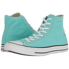 Converse Chuck Taylor(r) All Star(r) Seasonal Color Hi (Light Aqua) Lace up casual Shoes