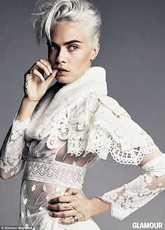 Speaking out: Cara Delevingne has now confessed she finds it 'annoying' when people automatically assume she is gay
