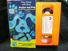 Blue's Movies: Blue's Clues - Rhythm and Blue Movie  (VHS, 1999) TESTED TO PLAY