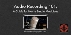 Don't know the first thing about recording music? In this resource, I show you 11 in-depth articles that get you started on the path to recording mastery.