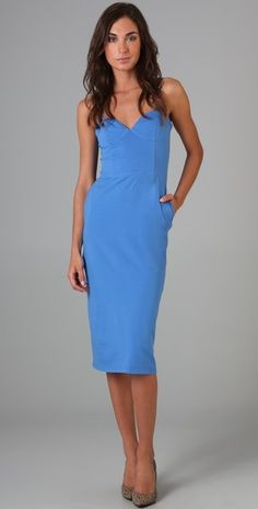 Classic bombshell dress by Monrow for $140
