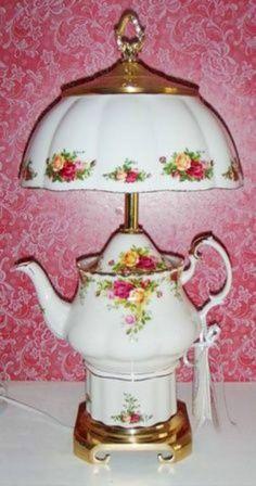 Unusual hand made lamp.....