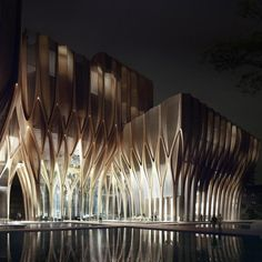 nexttoparchitects:  by vincenzoreale Honoured to be part of the Arup structural design team for the Sleuk Rith Institute, first Zaha Hadid building in timber, a museum for the memory and reconciliation of Cambodia's people http://ift.tt/1vPKki7 #Zaha #Zahahadis #Arup #timber #Cambodia #SleukRith #Architecture #Engineering #Museum