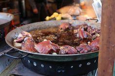 Roasted pork knuckles Roast Pork Knuckle, Pork Roast, Budapest Christmas Market, Beef, Food, Meat, Essen, Ox, Ground Beef