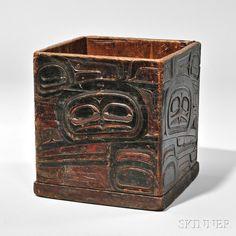 Northwest Coast Kerf Bent Box