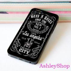 Guns N Roses Custom Case For iPhone 4/4s/5s/5c/6/6+/S3/S4/S5/S6 - Default iPhone 5/5s Case