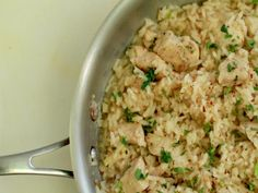 One pan chicken and rice from ifoodtv
