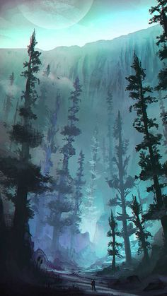 51 Enigmatic Forest Concept Art That Will Amaze You concept art forest trees mystical digitalpainting conceptualforest seaoftrees 338473728244106591 Concept Art Landscape, Fantasy Concept Art, Fantasy Landscape, Landscape Art, Landscape Lighting, Landscape Architecture, Landscape Fountains, Landscape Design, Landscape Nursery