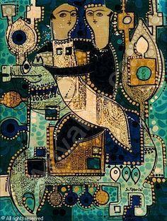 Iran - Sadegh Tabrizi modern Iranian art