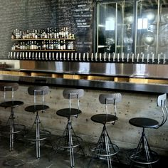 Go industrial with this vintage style swivel stool that was meant to work. Made of heavy iron and wood with an adjustable backrest. Industrial Coffee Shop, Vintage Industrial Bedroom, Industrial Bar Stools, Modern Industrial, Industrial Design, Cafeteria Industrial, Industrial Restaurant, Bar Interior Design, Cafe Interior