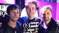 MUSE _ Matt Bellamy and Dom Howard _ BBC Radio 1 Breakfast _ Nick Grimshaw 2015