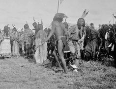 ARAPAHO DANCERS , 1893