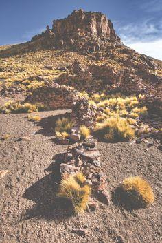 San Antonio de Lipez - an abandoned silver mine located the highlands of Bolivia.